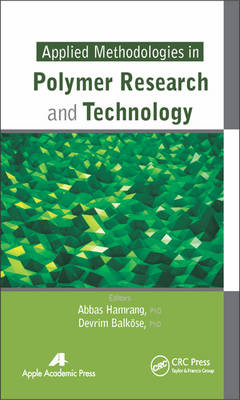 Applied Methodologies in Polymer Research and Technology (BOK)