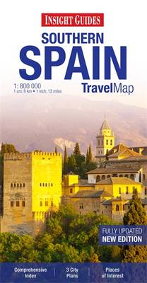 Insight Travel Map: Southern Spain (BOK)