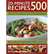 500 20-minute Recipes (BOK)