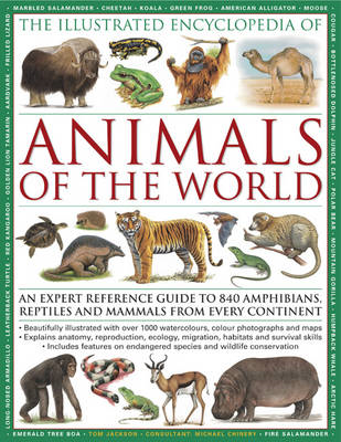 Illustrated Encyclopedia of Animals of the World (BOK)