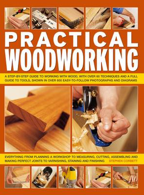Practical Woodworking: a Step-by-step Guide to Working with Wood, with Over 60 Techniques and a Full (BOK)