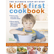 Ultimate Step-by-step Kid's First Cookbook (BOK)
