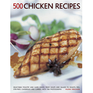 500 Chicken Recipes (BOK)