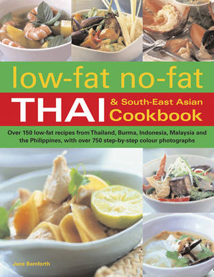 Low-Fat No-Fat Thai & South-East Asian Cookbook (BOK)