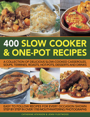 400 Slow Cooker & One-Pot Recipes (BOK)