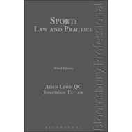 Sport: Law and Practice (BOK)