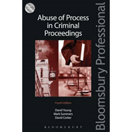Abuse of Process in Criminal Proceedings (BOK)