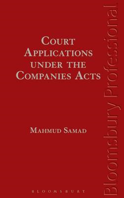 Court Applications Under the Companies Acts (BOK)