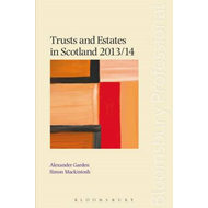 Trusts and Estates in Scotland: 2013/14 (BOK)