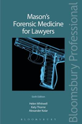 Mason's Forensic Medicine for Lawyers (BOK)