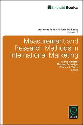 Measurement and Research Methods in International Marketing (BOK)