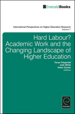 Hard Labour? Academic Work and the Changing Landscape of Higher Education (BOK)