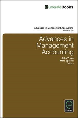 Advances in Management Accounting: Volume 20 (BOK)