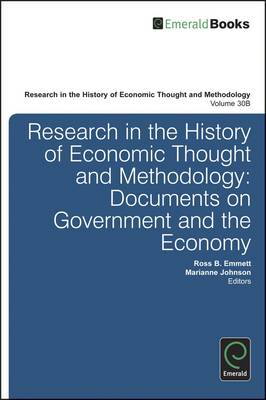 Research in the History of Economic Thought and Methodology: Documents on Government and the Economy (BOK)