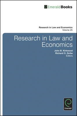 Research in Law and Economics (BOK)