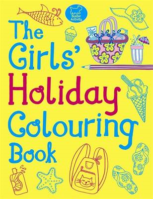 The Girls' Holiday Colouring Book (BOK)