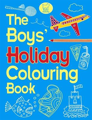 Boys' Holiday Colouring Book (BOK)