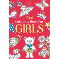 First Colouring Book for Girls (BOK)