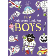 First Colouring Book For Boys (BOK)