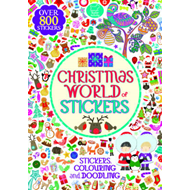Christmas World of Stickers (BOK)