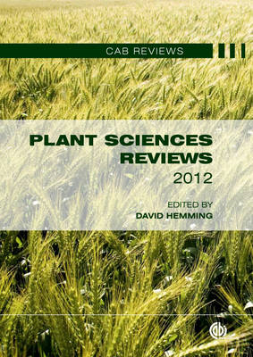 Plant Sciences Reviews: 2012 (BOK)