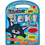 Fun On The Run Sticker Joke Book (BOK)