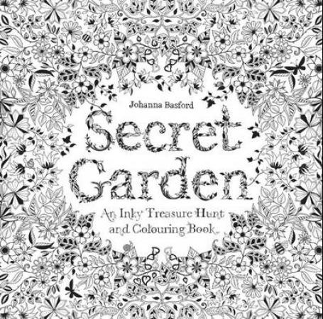 Secret garden. An inky treasure hunt and colouring book (BOK)