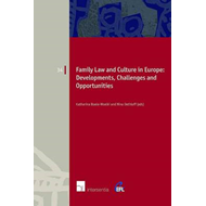Family Law and Culture in Europe (BOK)