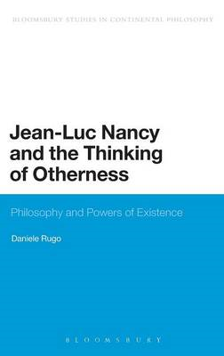 Jean-Luc Nancy and the Thinking of Otherness (BOK)