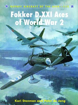Fokker D.XXI Aces of World War 2 (BOK)