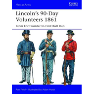 Lincoln's 90-day Volunteers, 1861: From Fort Sumter to First Bull Run (BOK)