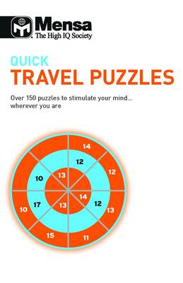 Mensa: Quick Travel Puzzles (BOK)