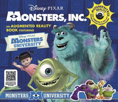 Monsters, Inc. Augmented Reality Book (BOK)