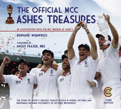 The Official MCC Ashes Treasures (BOK)