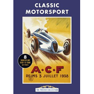 Classic Motorsports: A Collection of Vintage Posters (BOK)
