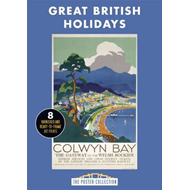 Great British Holidays: A Stunning Collection of Poster Art (BOK)