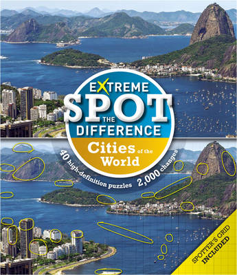 Extreme Spot-the-Difference: Cities (BOK)