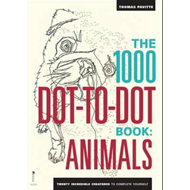 The 1000 Dot-to-Dot Book: Animals: Twenty Incredible Creatures to Complete Yourself (BOK)