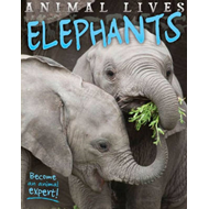 Animal Lives: Elephants (BOK)