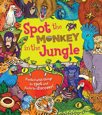 Spot the Monkey in the Jungle (BOK)