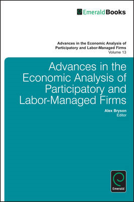 Advances in the Economic Analysis of Participatory and Labor (BOK)