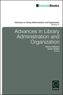 Advances in Library Administration and Organization (BOK)