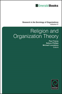 Religion and Organization Theory (BOK)