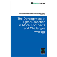 The Development of Higher Education in Africa: Prospects and Challenges (BOK)