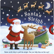 Santa's Sleigh: Santa Needs Help to Pull His Sleigh. Can You Help Him on His Way! (BOK)