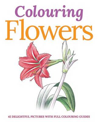 Colouring Flowers (BOK)