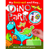 Dino Park My Press out and Play (BOK)