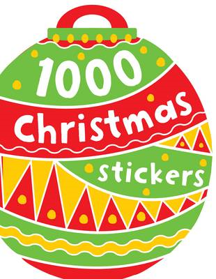 1000 Christmas Stickers (BOK)