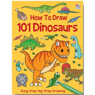 How to Draw 101 Dinosaurs (BOK)