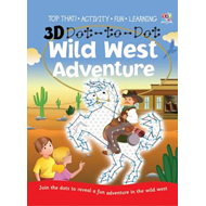 3D Dot-to-dot Wild West Adventure (BOK)